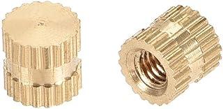MroMax M5 Interface Hex Socket Threaded Insert Nuts for Wood Furniture 50Pcs