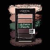 L'Oreal Paris La Petite Palette de Sombras, Tonos 05 Pigalle, 4 g (5 x 0.80 g)