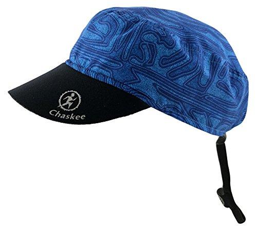 Chaskee Reversible Cap Maze mit Neoprenschild (Wendemütze, UV 80), Farbe:blue