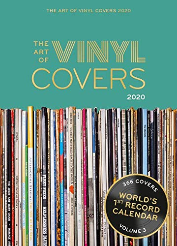 The Art of Vinyl Covers 2020: Every day a unique cover – World's 1st Record Calendar
