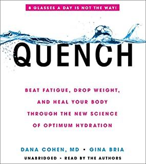 Quench audiobook cover art
