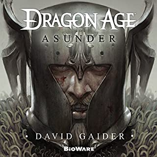 Dragon Age: Asunder audiobook cover art