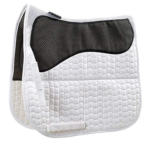 Shires Airflow Saddle Pad White Full