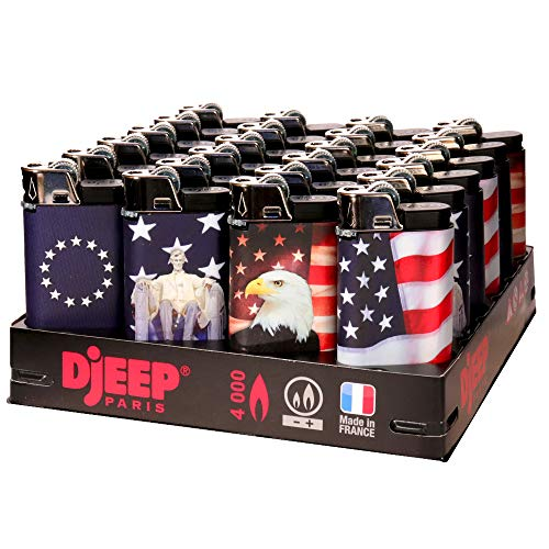 24 Djeep - Stars and Stripes Lighters Slant Tray