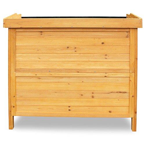 Habau 3106 Gartentisch mit Unterschrank, 98 x 48 x 95 cm - 3