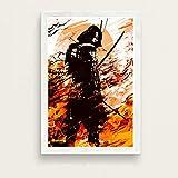 JYWDZSH Leinwanddruck Japanische Samurai Bushido Japan