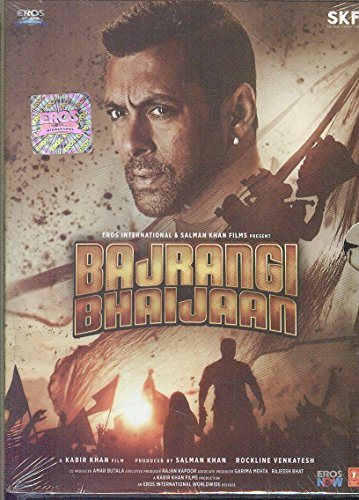 Bajrangi Bhaijaan Hindi DVD (2015) Salman Khan, Kareena Kappor (Bollywood Film/Cinema))