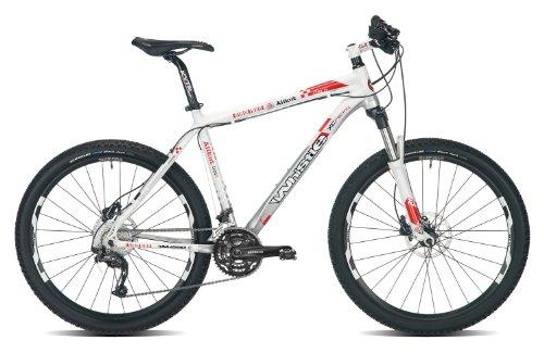 WHISTLE Fischietto Alikut 1161D 410H 30SPD Suspenstion da Uomo da Mountain Bike, Colore Bianco/Argento, 53,3cm