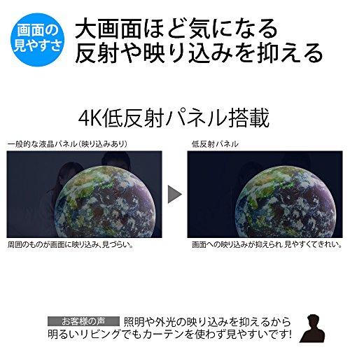 『シャープ 40V型 液晶 テレビ AQUOS 4T-C40AJ1 4K Android TV 回転式スタンド 2018年モデル』の2枚目の画像