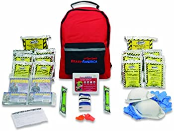 Ready America 70280 Emergency Kit 2-Person 3-Day Backpack