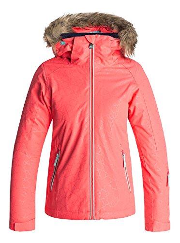 Roxy Jet Ski Solid Girl Jk Chaqueta para Nieve