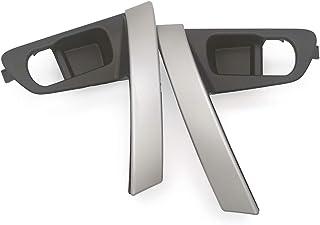 per Nissan Qashqai J10 2007-2014 Copertura del rivestimento Maniglia del coperchio del bagagliaio del portellone posteriore verniciato bianco con foro chiave intelligente e senza foro per telecamera
