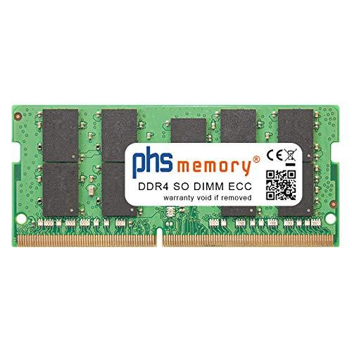 PHS-memory 16GB RAM Speicher für Synology DiskStation DS1819+ DDR4 SO DIMM ECC 2400MHz