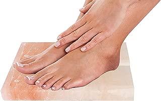 Artestia Set of 2 Himalayan Salt Block for Foot Detox with Use Directions (24 x 10 x 3 cm)