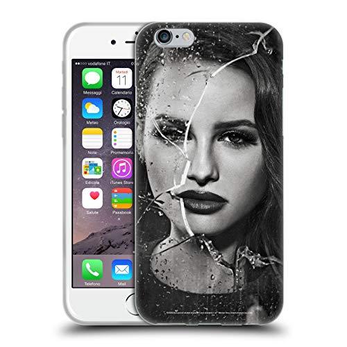 Head Hülle Designs Offiziell Offizielle Riverdale Cheryl Blossom Kapputte Glaeser Portraits Soft Gel Handyhülle Hülle kompatibel mit Apple iPhone 6 / iPhone 6s