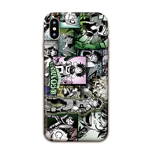 FDSVCSXV Funda de Arte de Anime para iPhon7 / 7plus, Carcasa Anti-Choque y Anti- Arañazos para iPhone6 / 6S / 6 Plus (iPhone All Series),A,iPhone SE