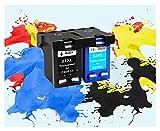 ZITENG CGBH Sustitución de Cartuchos de Cartuchos de Tinta HP 21 aplicable for HP21 for HP Deskjet F380 21XL F2180 F2280 F4180 F4100 F2100 F2200 F300 Impresora (Color : 1bk 1color)