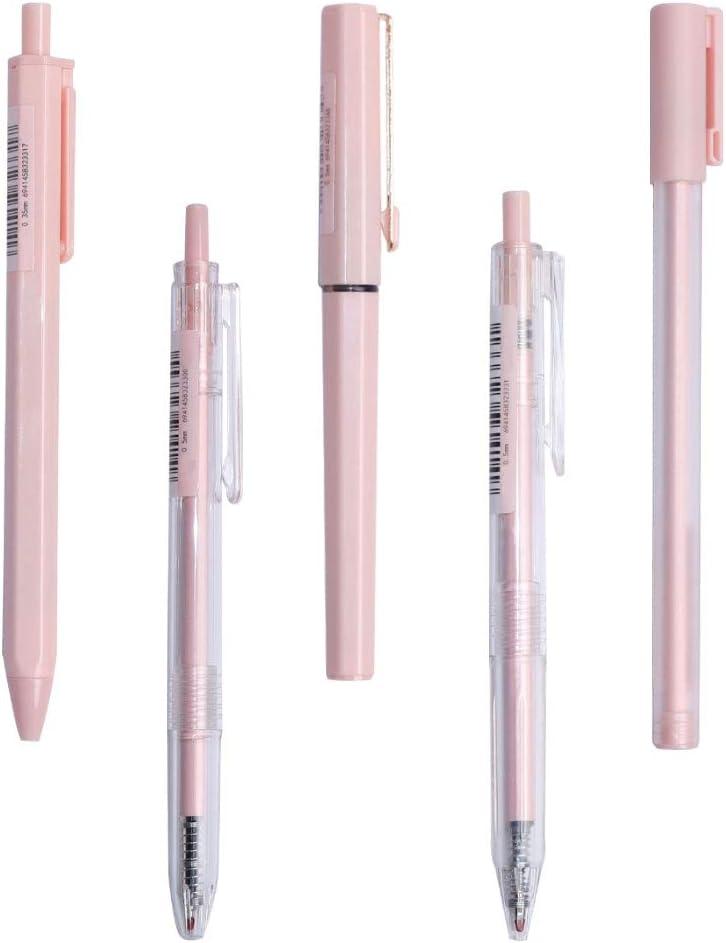 Bupoo Gel Pens Set Point Fine 0.5mm Sale SALE% OFF Attention brand 0.3mm