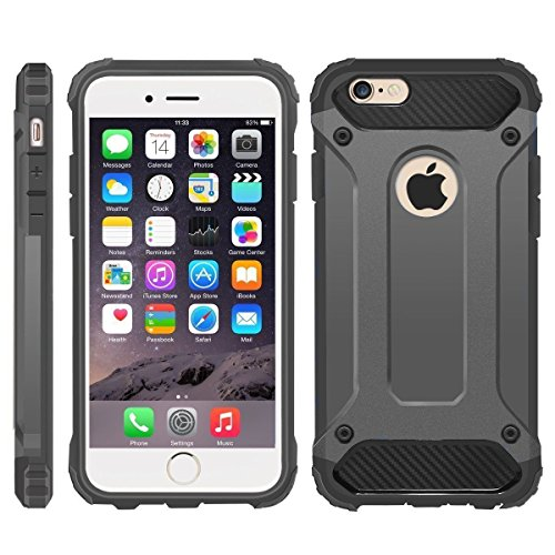 iPhone 6 Case, iPhone 6S Cover, [Survivor] Military-Duty Case - Shockproof...