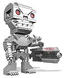 Mega Bloks Figuras coleccionables, Color Gris. (Mattel DTW67)