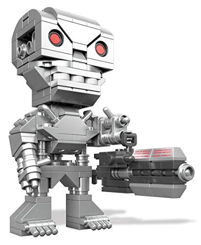 Mega Bloks Mattel DTW67 Kubros Teminator T-800, Konstruktionsspielzeug