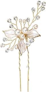Tixiyu Bruidshaarspelden, modieuze retro elegante dames parel strass haaraccessoires, geschikt voor bruiloft bruidssierade...
