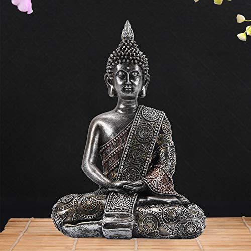 Goodeco Meditating Thai Buddha Ornament figurine,Zen Garden buddha Statue...