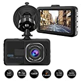 Aigoss Dash Cam Video Camera Recorder for Cars, 1080P Full HD 3' LCD Screen Driving Recorder with Wide Angle& Super Night Vision, Support G-Sensor/Parking Monitor/Loop Recording/Motion Detection