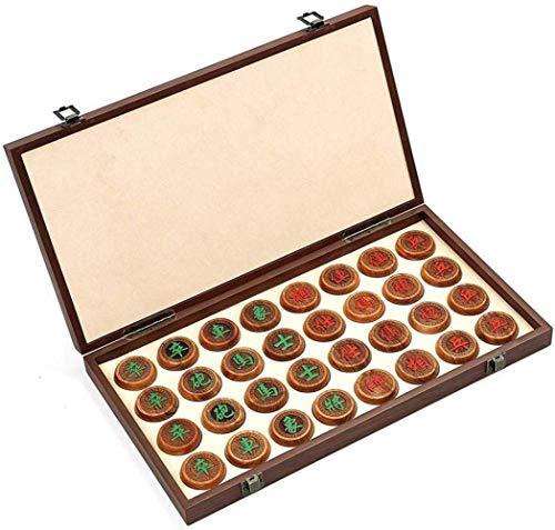 Conjuntos de ajedrez, ajedrez Myanmar Pear Cajas plegables, para mejorar el control general de la memoria, los juegos ocasionales regalos para los vecinos regalo plegable del tablero de ajedrez, regal