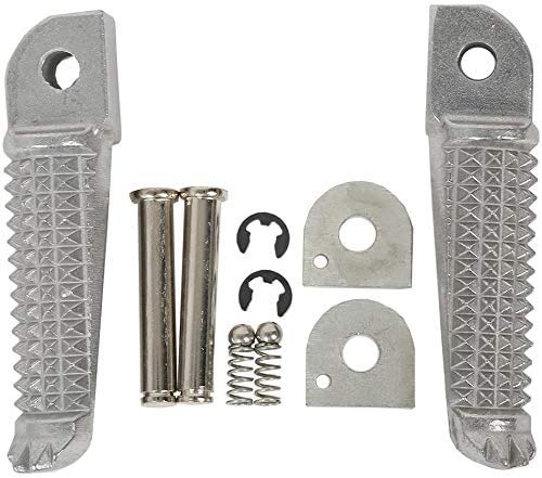 ZMDA Silver Rear Footrests Foot pegs for Yamaha YZF R1
