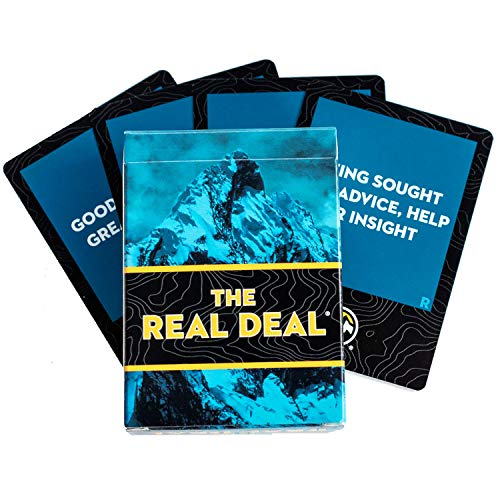 PEAK Learning The Real Deal Cards, A Tactile, Effective Communication Tool for Leaders   Align Team Communication   Increase Productivity   Connect Onsite and Virtual Teams