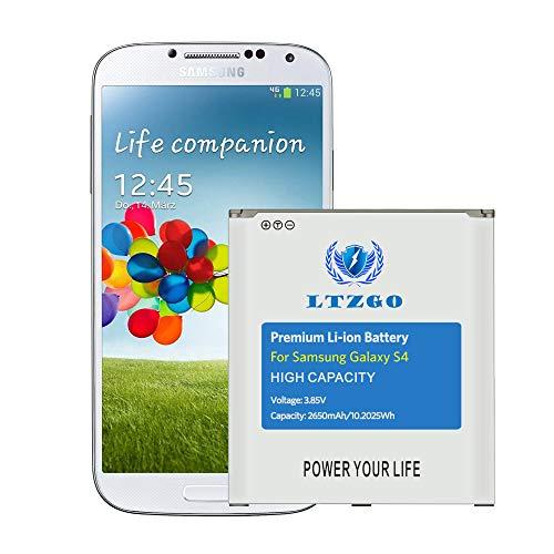 LTZGO Batería Compatible con Samsung Galaxy S4, 2650 mAh Batería de Alta Capacidad Reemplazo de Ion de Litio Compatible con Samsung Galaxy S4 batería