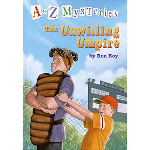 A to Z Mysteries: The Unwilling Umpire cover art