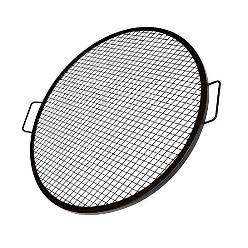 Onlyfire X-Marks Fire Pit Grill Cooking Grate, Outdoor Campfire BBQ Grill, Round - 36 Inch