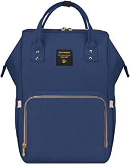 Sunveno Backpack Diaper Bag- Navy