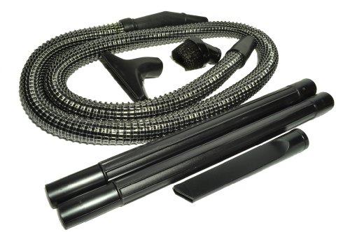 Panasonic Upright Staubsauger Ersatz Schlauch/Befestigung-Kit, enthält ein 6Fuß lang 11/10,2cm schwarz Vinyl Draht verstärkter Schlauch, Staub Bürste, Polsterdüse, Fugendüse und 2schwarz Kunststoff Reinigungsstäbe