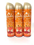 Glade Air Freshener Spray - Limited Edition - Winter Collection 2017 - Cozy Autumn Cuddle - Net Wt. 8 OZ (227 g) Per Can - Pack of 3 Cans