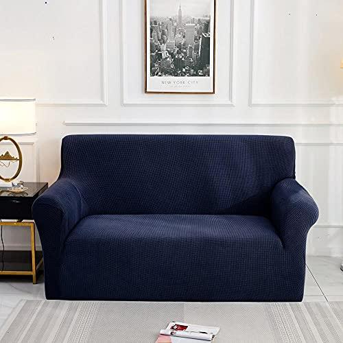 Funda de sofá Jacquard para Sala de Estar, Funda de sofá elástica elástica, Funda seccional para sofá, Protector de Muebles A10, 2 plazas