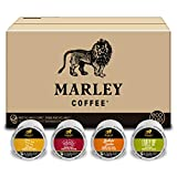 Marley Coffee Variety Pack, Fairtrade Coffee, Keurig K-Cup Brewer Compatible Pods, 12 Count (Pack of 6)