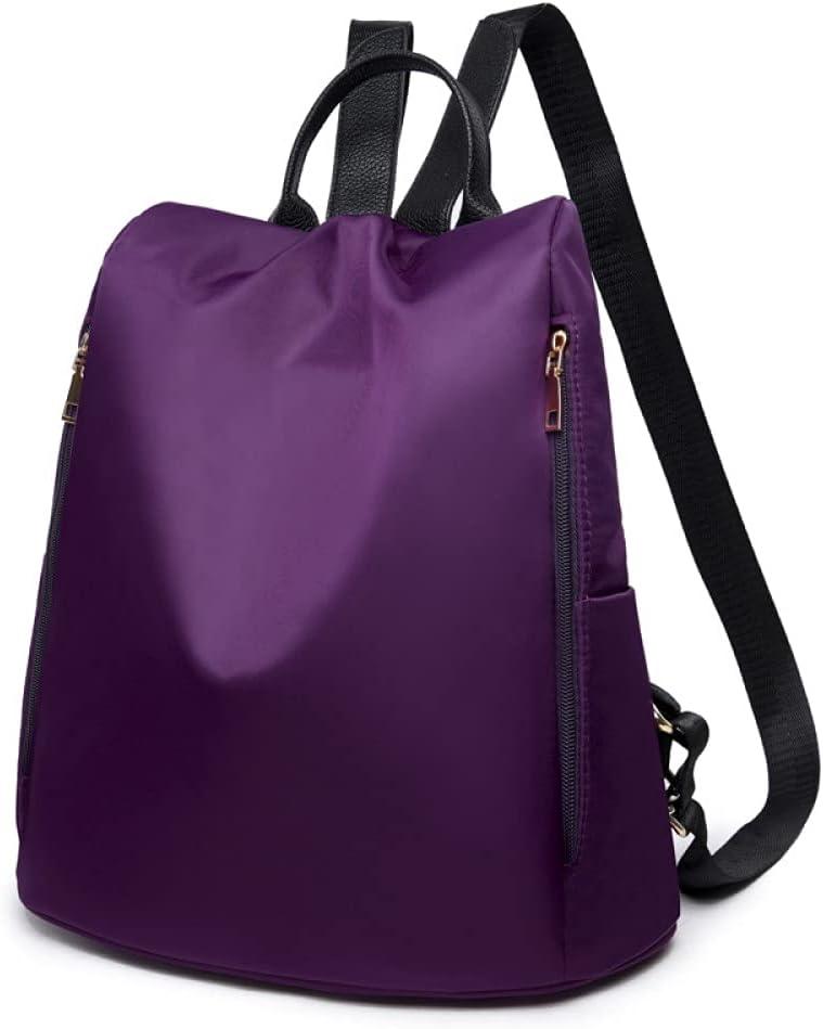 2021 Waterproof Oxford Women Backpack Fashion Anti-theft Women Backpacks Print School Bag Large Capacity Backpack,Purple,As shown