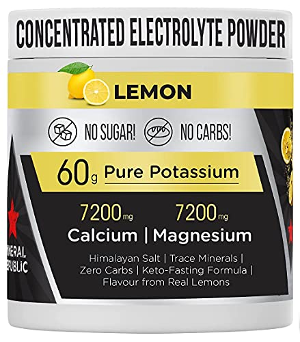 Honest Electrolyte Powder: High Potency Sugar Free Electrolytes/Zero Calorie Keto Electrolytes w/ Magnesium, Concentrated Potassium Powder, Sodium & Keto Minerals | Fasting salts/Snake Diet