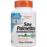 Doctor's Best Saw Palmetto Standardized Extract, 320Mg - 180 Cápsulas Blandas 180 Unidades 120 g