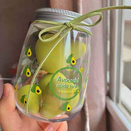 Puff Soda kan perzik Avocado Beauty Eieren zijn zacht en niet gemakkelijk te eten poeder nat en droog eieren Boxed Avocado