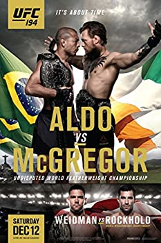 ufc 194 posters