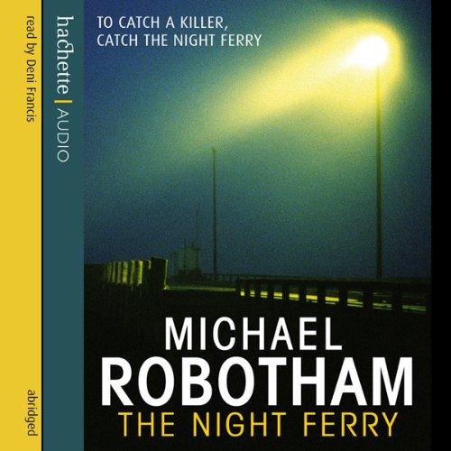 The Night Ferry audiobook cover art