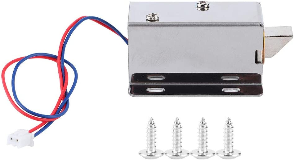 Oumefar DC 12V Durable Magnetic Drawer Corrosion-Resistant Lock Limited San Francisco Mall Special Price