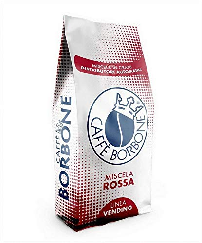Borbone Caffè in Grani Chicchi Tostati Miscela Rossa Red 2Kg