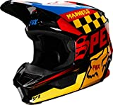 Fox Helmet V-1 Czar Black/Yellow S