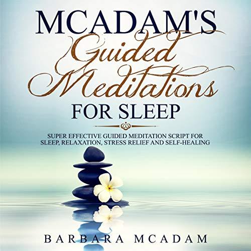 Mc Adam's Guided Meditations for Sleep Titelbild