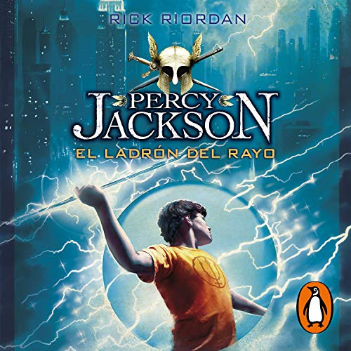 Page de couverture de El ladrón del rayo [The Lightning Thief]